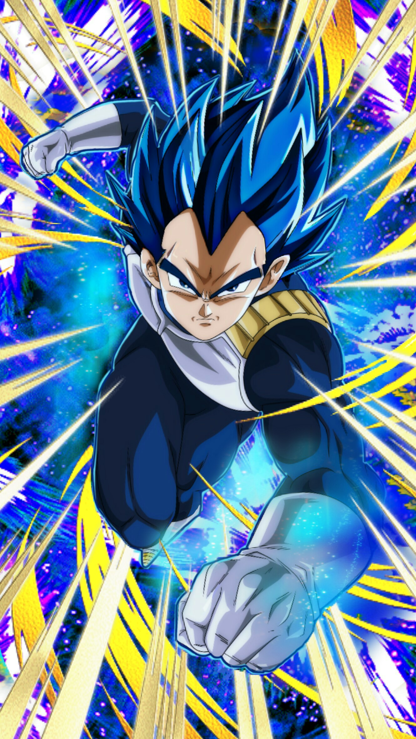 Unleashing a New Power Super Saiyan God SS Evolved Vegeta