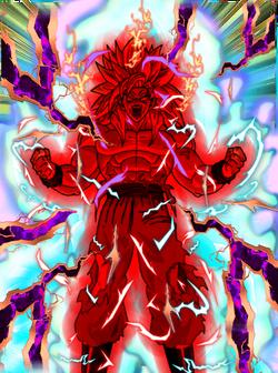 Goku x100 card fake