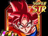 Divine Assault Super Saiyan God Goku