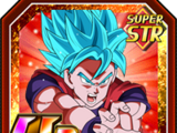 The Final Blow Super Saiyan God SS Goku
