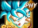 The God's Evolution Super Saiyan God SS Goku