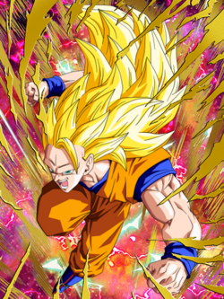 GentFake-Unstoppable Force Super Saiyan 3 Goku