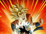 Pure Saiyan Fury Goku