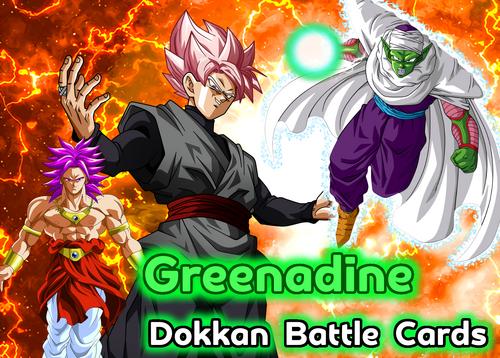 Greenadine Dokkan Battle Cards Banner