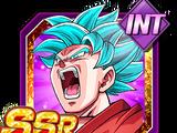 Astonishing Boost in Power Super Saiyan God SS Goku (Kaioken)