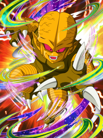Fake golden saibaman card