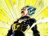 Sacrificing for a Promise Super Saiyan God SS Evolution Vegeta