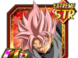 Carnage for Justice Goku Black (Super Saiyan Rosé)