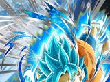 Limit Breaking Survivor Super Saiyan God SS Goku
