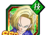 Explosive Warrioress Android 18