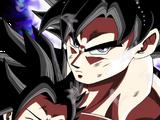 Care and Anger Goku (Ultra Instinct) & Caulifla