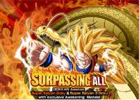 Surpassing All SSJ3 Dokkan Event