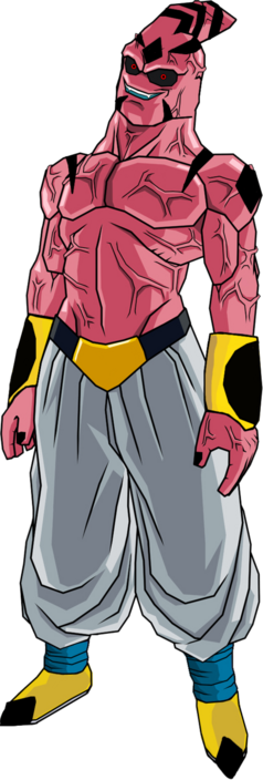 Demon buu by db own universe arts-d3663tr