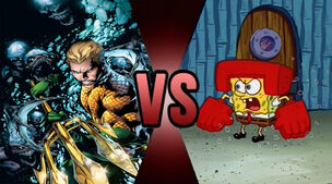 Death Battle Aquaman vs Spongebob 2