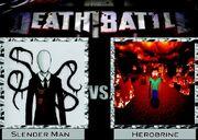 Death battle slender man vs herobrine by thetacticalpoptart-d604p67
