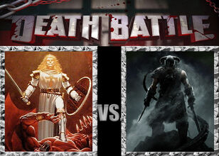 Death Battle - The Avatar vs The Dragonborn