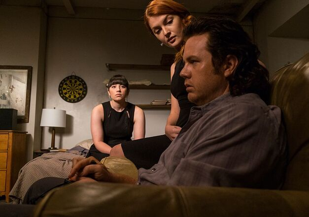 The Walking Dead-Eugene-Tanya-Frankie