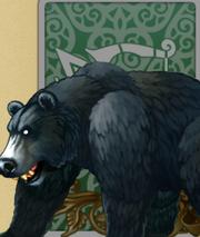 Ferocious Wild Brown Bear