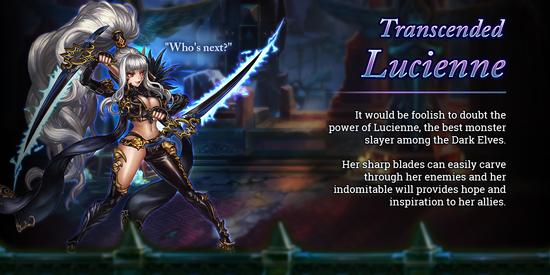 Transcended Lucienne release poster