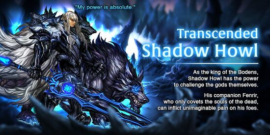 Transcended Shadow Howl release poster