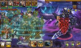 Freed Ragnarok 6man battle screen