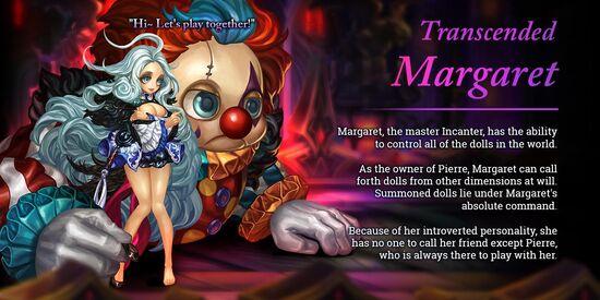 Transcended Margaret release poster
