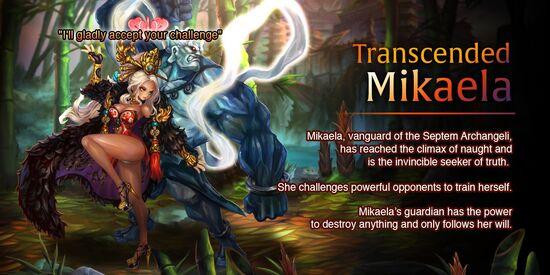 Transcended Mikaela release poster