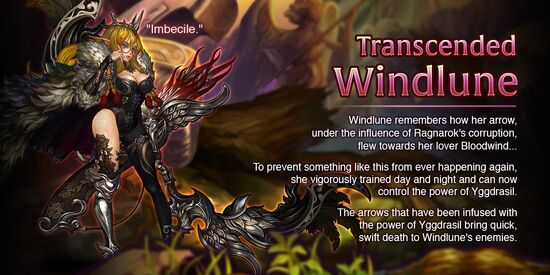 Transcended Windlune release poster