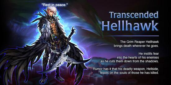 Transcended Hellhawk release poster