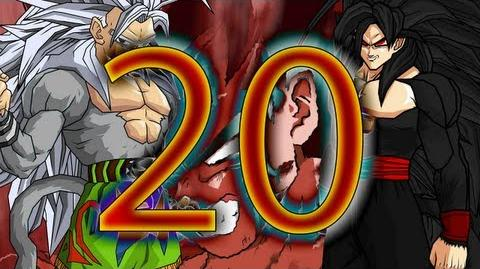 DBAF Evil Goku Saga Episode 20 Goku Versus Evil Goku