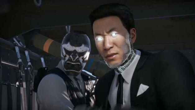Mr Negative Spider-Man PS4