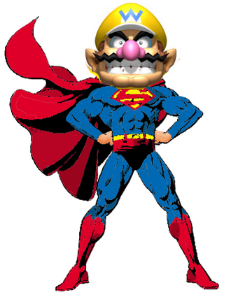 Ultra god Wario