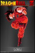 Dragon Ball Z Goku Kaio Ken X2 by tekilazo