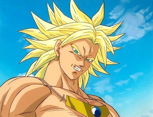 Super Saiyan Broly In