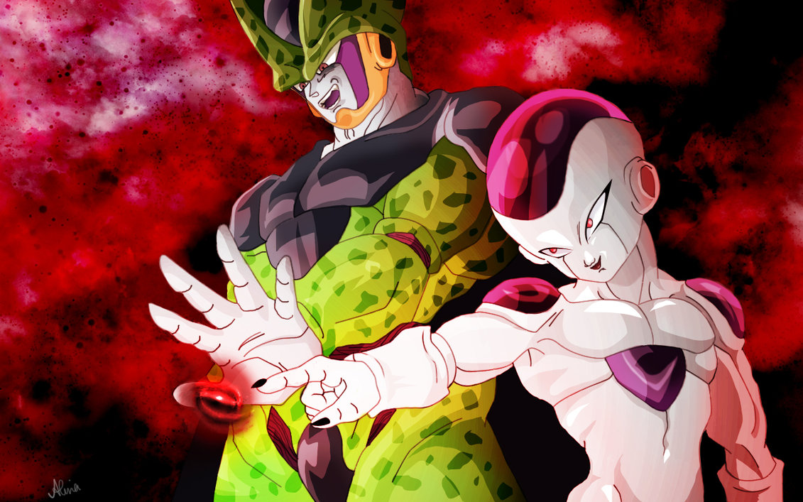 Image result for frieza and cell