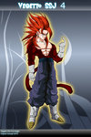 Vegetto ssj4 by avager-d38gkyt