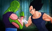Piccolo and Vegeta THE CLASH by NamekianKAI