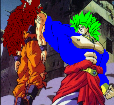 Legendary Power Saiyan(Right)