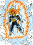 Old Future Trunks SSJ2 by cm023