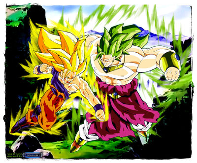 Legendary Super Saiyan 3(right)