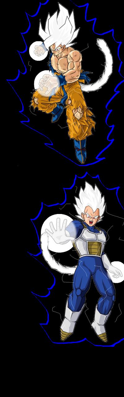 DS2 Goku and DS2 Vegeta