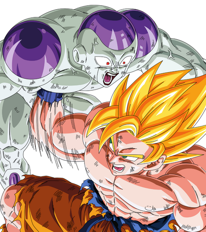 File:Goku vs Frieza by zman786.png
