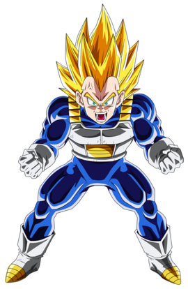 Ascended super vegeta