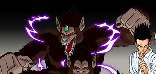 Time breaker great ape gohan