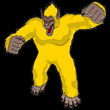Golden great ape goku