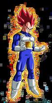 Super Saiyan God Vegeta (render)