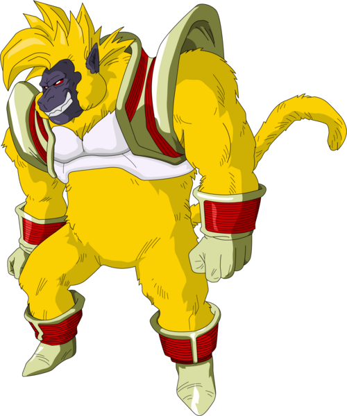 Golden Great Ape Baby