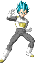 Super Saiyan God SS Vegeta
