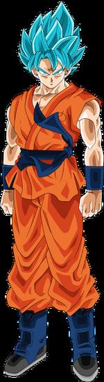 Super Saiyan God SS Goku2