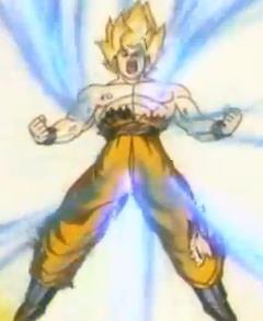 Spirit super saiyan goku